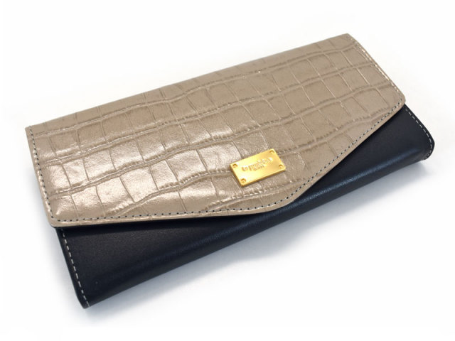 Fascino(ファッシノ) 長財布 「ル・プレリーギンザ 」 NPL3015 グレー 正面