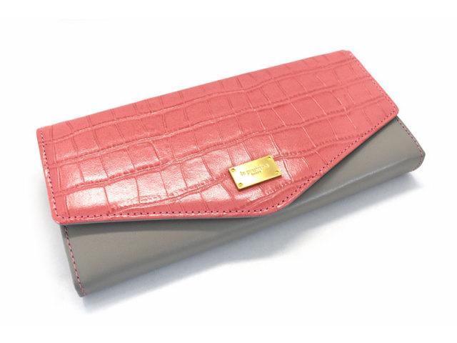 Fascino(ファッシノ) 長財布 「ル・プレリーギンザ 」 NPL3015 ピンク 正面