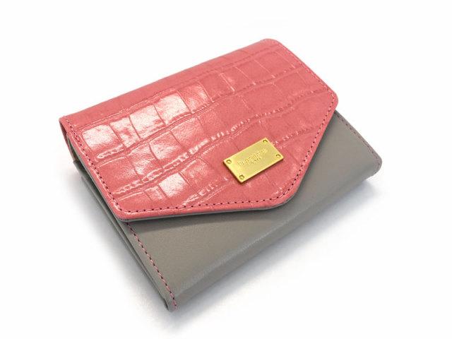 Fascino(ファッシノ) 二つ折り財布(小銭入れあり) 「ル・プレリーギンザ 」 NPL3213 ピンク 正面