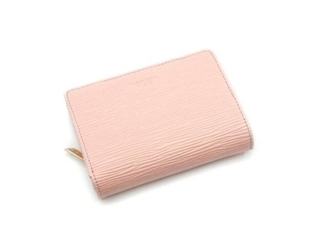 Refined(リファイン)二つ折り財布 (小銭入あり)「ル・プレリーギンザ」 NPL5312 ピンク 正面