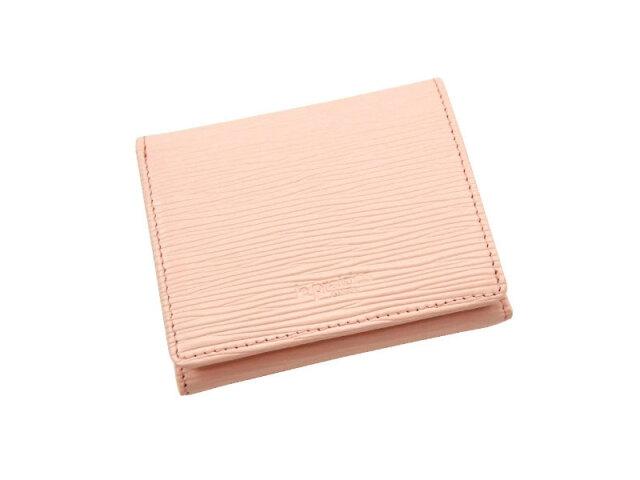 Refined(リファイン)二つ折り財布 (小銭入あり)「ル・プレリーギンザ」 NPL5410 ピンク 正面