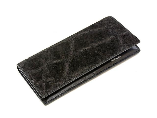 GINZAエレファント 長財布(小銭入れあり) 「プレリーギンザ」 NPM1040 クロ 正面