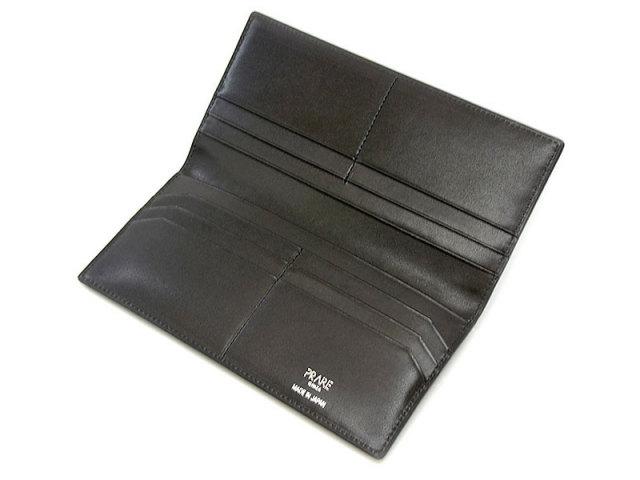 GINZAエレファント 長財布(小銭入れなし) 「プレリーギンザ」 NPM1136 クロ 内作り