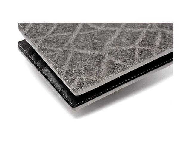 GINZAエレファント 二つ折り財布(小銭入れあり) 「プレリーギンザ」 NPM1235 グレー 特徴