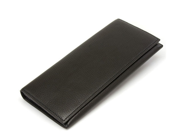 Kip classic(キップクラシック)  長財布 「プレリーギンザ」 NPM2025 ブラック 正面