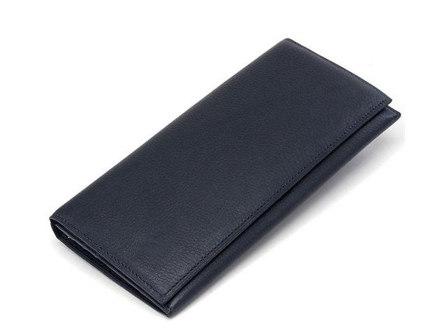 Kip classic(キップクラシック)  長財布 「プレリーギンザ」 NPM2025 ネイビー 正面