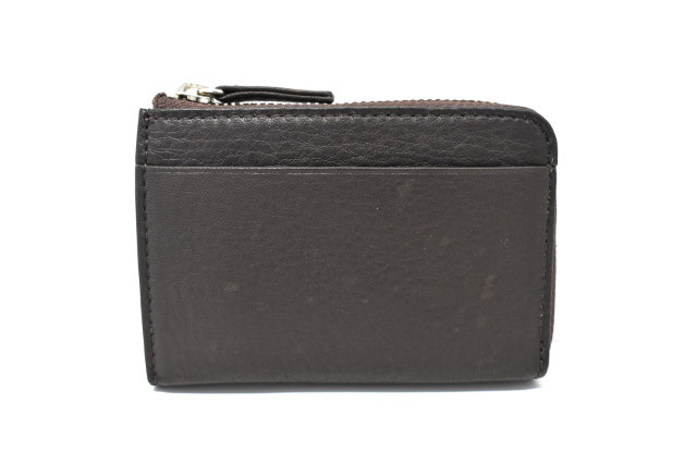 Glove high soft leather(グローブハイソフトレザー) 小銭入れ 「プレリーギンザ」 NPM4412 チョコ 正面