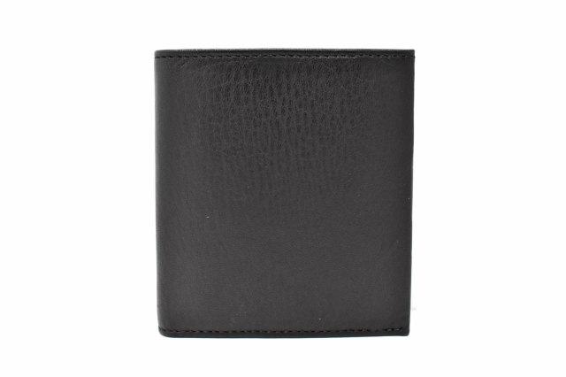 Glove high soft leather(グローブハイソフトレザー) コンパクト財布「プレリーギンザ」 NPM4613 クロ 正面