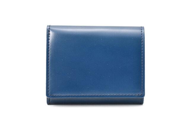 コードバン スマートコンパクト 三つ折り財布 「プレリーギンザ」 NPM7022 コン 正面