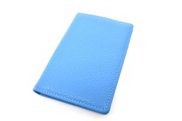 Comodity(コモディティ) カードケース 「ル・プレリーギンザ」 NPS5350 ブルー 正面