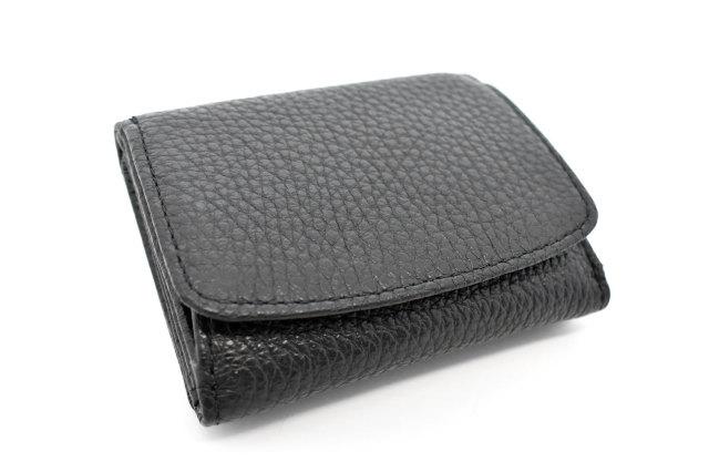Comodity(コモディティ)三つ折り財布  「ル・プレリーギンザ」 NPS5570 クロ 正面