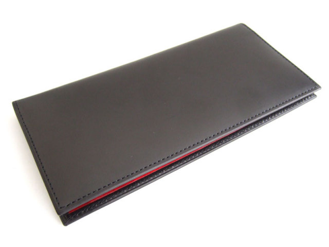 Victoria(ビクトリア) 長財布(小銭入れあり) 「プレリーギンザ」 NPT5019 ブラック 正面