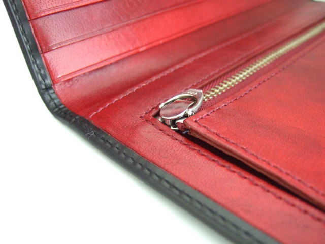 Victoria(ビクトリア) 長財布(小銭入れあり) 「プレリーギンザ」 NPT5019 ブラック 特徴