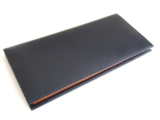 Victoria(ビクトリア) 長財布(小銭入れあり) 「プレリーギンザ」 NPT5019 ネイビー 正面