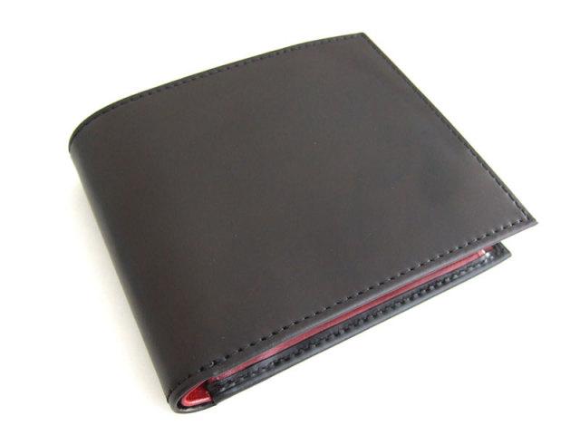 Victoria(ビクトリア) 二つ折り財布(小銭入れあり) 「プレリーギンザ」 NPT5118 ブラック 正面