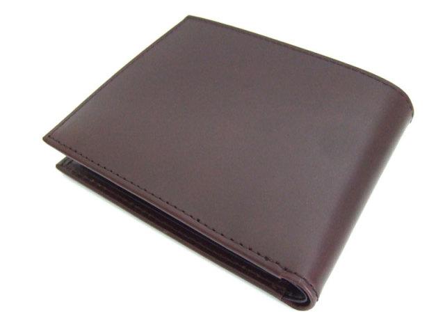 Victoria(ビクトリア) 二つ折り財布(小銭入れあり) 「プレリーギンザ」 NPT5118 ダークブラウン 裏面