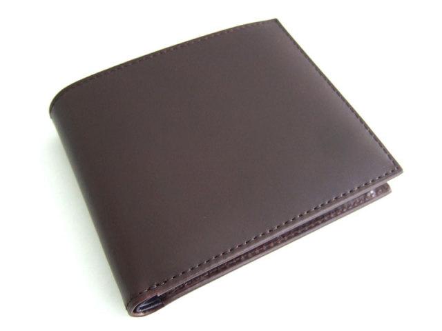 Victoria(ビクトリア) 二つ折り財布(小銭入れあり) 「プレリーギンザ」 NPT5118 ダークブラウン 正面