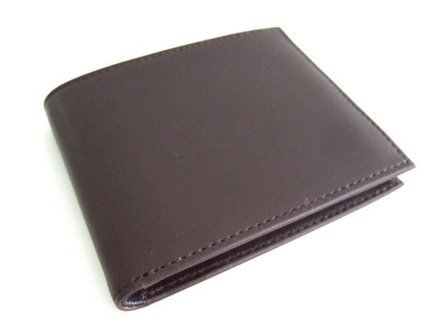 Victoria(ビクトリア) 二つ折り財布(小銭入れなし) 「プレリーギンザ」 NPT5212 ダークブラウン 正面