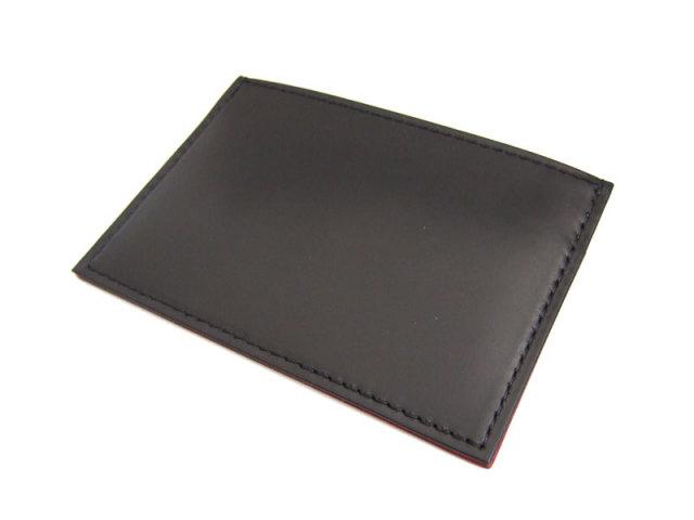 Victoria(ビクトリア) カードケース 「プレリーギンザ」 NPT5365 ブラック 正面
