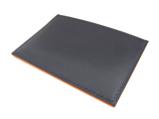 Victoria(ビクトリア) カードケース 「プレリーギンザ」 NPT5365 ネイビー 正面