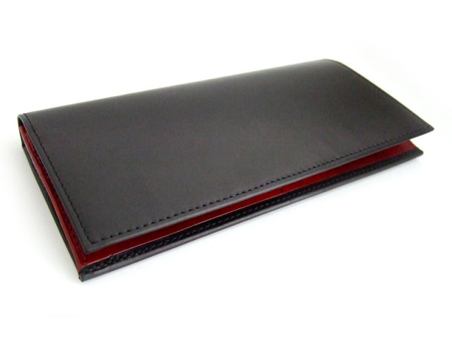 Victoria(ビクトリア) 長財布(小銭入れあり) 「プレリーギンザ」 NPT5522 ブラック 正面