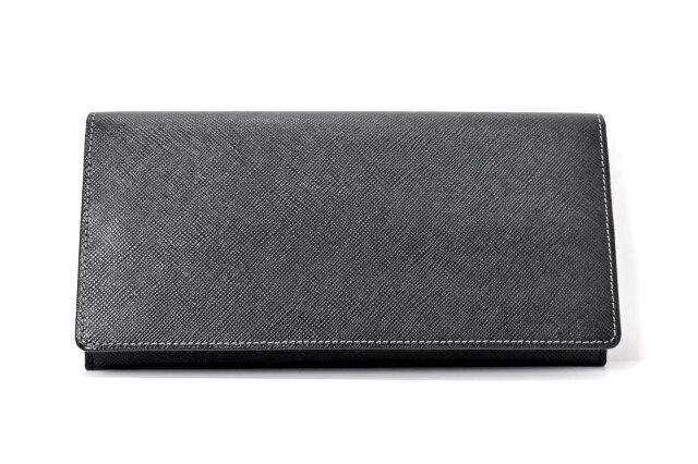 Clean(クリーン) 長財布 「プレリーギンザ」 NPX8013 クロ 正面