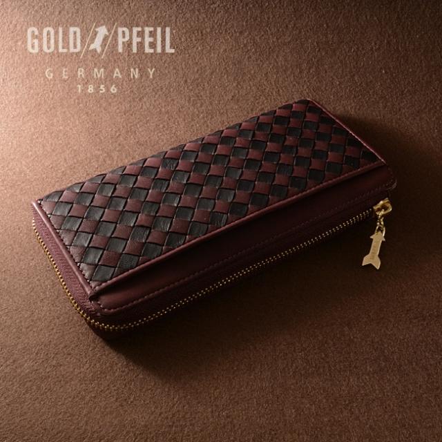 ソフト メッシュ ファスナータイプ長財布「ゴールドファイル」 GP37216