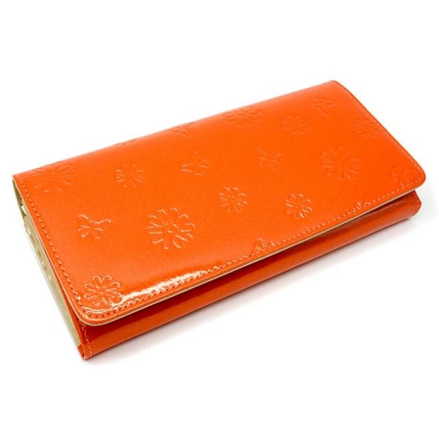 ユリシス 長財布 「ル・プレリー」 NP22013 オレンジ