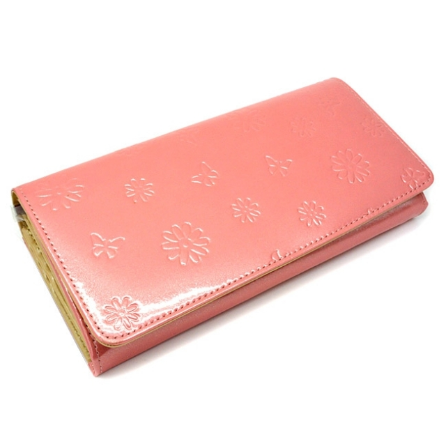 ユリシス 長財布 「ル・プレリー」 NP22013 ピンク