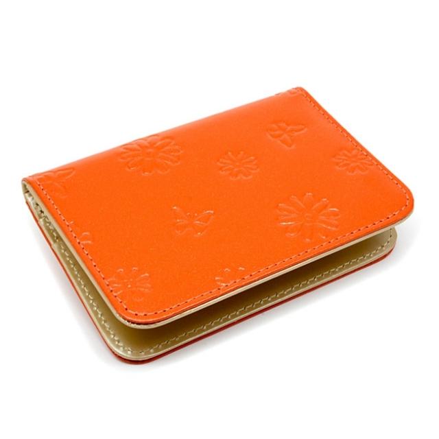 ユリシス パスケース 「ル・プレリー」 NP22355 オレンジ