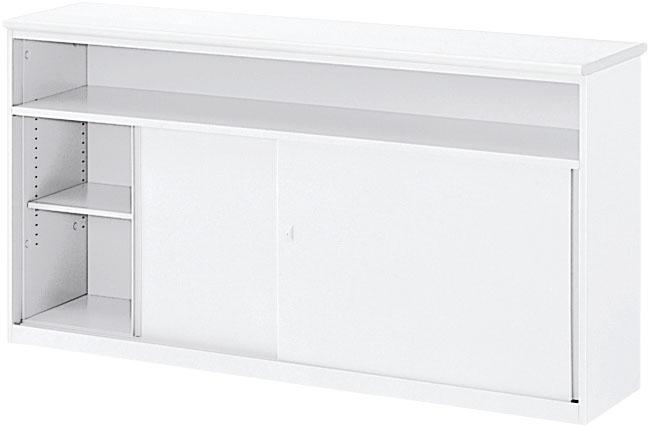内田洋行 VISIT-standard ハイカウンター HCSL-12 棚付引戸タイプ/SL型 W1200×D440×H950mm