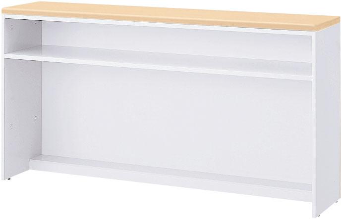 内田洋行 VISIT-Forest ハイカウンター HCTOP-09 インフォメーション基本タイプ/OP型手荷物台付 W900×D416×H950mm