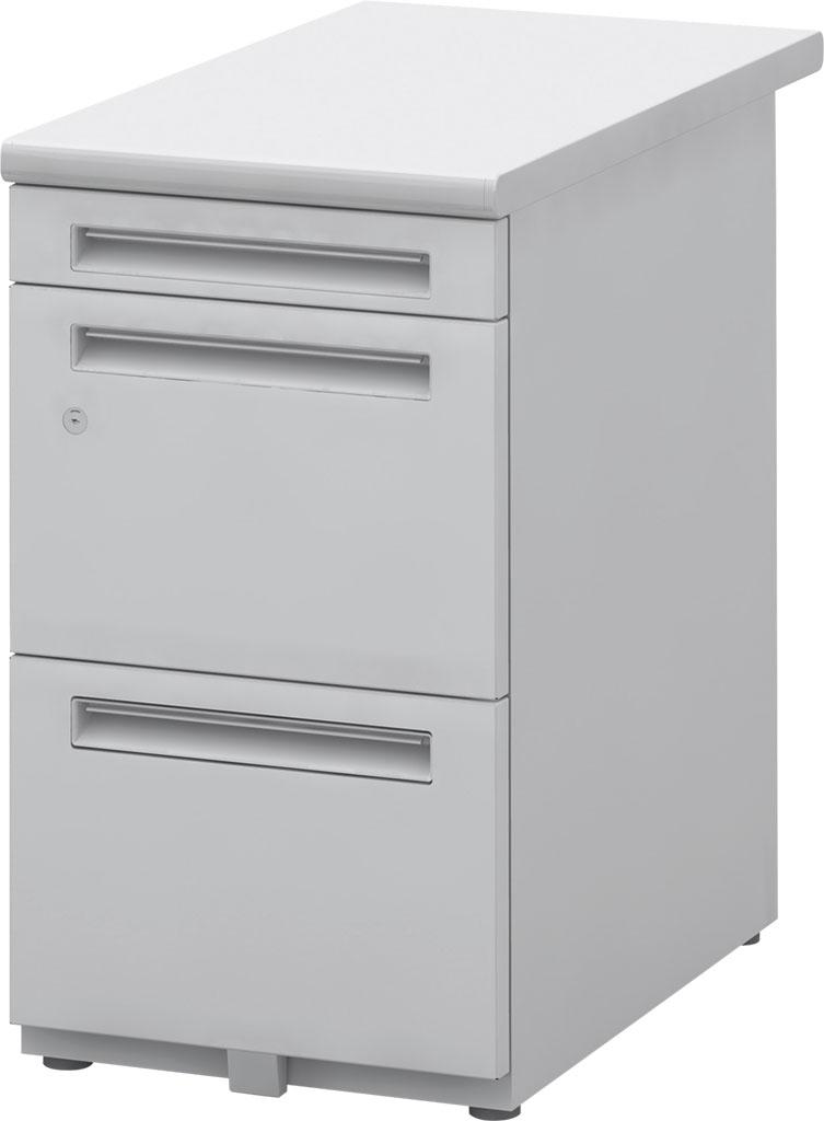 内田洋行 平FR047A4-3SK FEED-R 脇デスク A4-3段 W400×D700×H700mm