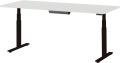 内田洋行 電動昇降デスク OPERNA(オペルナ) テーブルタイプ コネクティング対応 本体エルブラック MTG2190C W2100×D900×H650~1250mm