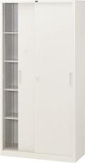 内田洋行 引違い書庫 3×6型 鋼板戸 JIS1号 棚板4枚 W880×D400×H1790mm