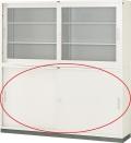 内田洋行 引違い書庫 6×3型 鋼板戸 JIS4号 棚板4枚 W1760×D400×H880mm