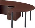 内田洋行 役員用家具 EDファニチュア MWシリーズ 自立型ミーティングテーブル(大) W1558×D900×H720mm