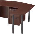 内田洋行 役員用家具 EDファニチュア MWシリーズ 自立型ミーティングテーブル(小) W1558×D450×H720mm
