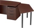 内田洋行 役員用家具 EDファニチュア MWシリーズ 可動型ミーティングテーブル W1558×D600×H671mm