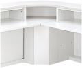 内田洋行 VISIT-standard インフォメーションカウンター SIFK-90 外コーナー/IFK型 W853×D853×H950mm