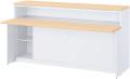 内田洋行 VISIT-Forest インフォメーションカウンター HCTST-09 棚付引戸インフォメーションタイプ/ST型手荷物台付 W900×D841×H950mm
