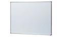 生興 STアルミ枠ボード HB-23SW 無地壁掛 スチールホワイトボード 幅910×高610mm