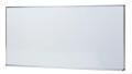 生興 STアルミ枠ボード HB-36SW 無地壁掛 スチールホワイトボード 幅1810×高910mm