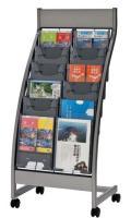 生興 カタログスタンド PSL-C206 A4判2列6段 ポケット型タイプ
