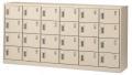 生興 SLCシューズボックス SLC-24Y 6列4段24人用 錠付 窓無タイプ