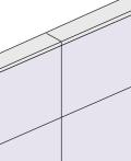 生興 標準パネル用 直線柱 LP3-6IEP 高さ1830用