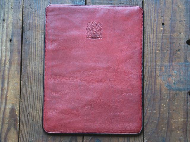 福山レザー【iPadケース】ディナワイン