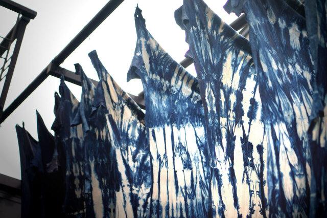 薄藍(素材)