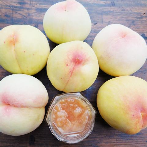 【尾道産】旬の桃と完熟レモンのジャム「O0001」