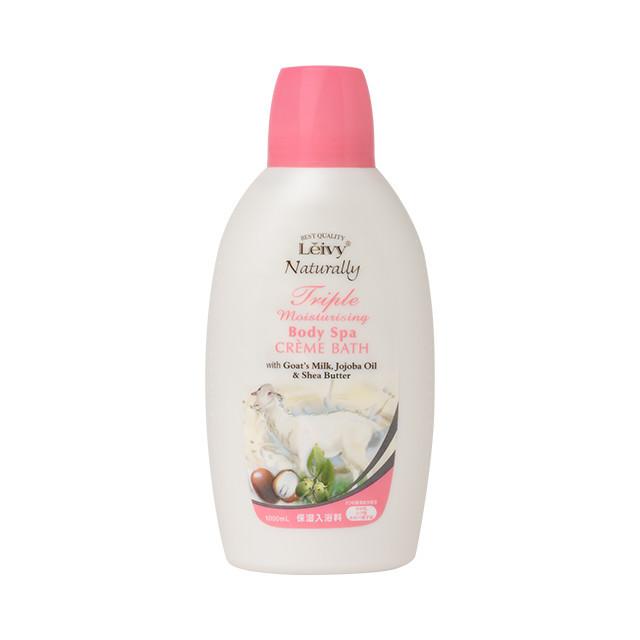 クレオパトラが美肌を保つ為に、入浴に用いていたと言われる、高保湿美容成分「ヤギミルク」配合。しっとり保湿。